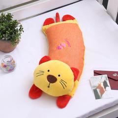 卡通头荞麦枕(52*18) 橘小猫