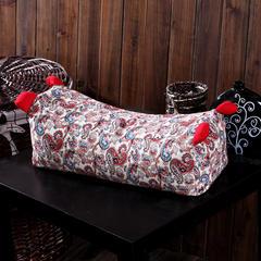 老虎枕(小号45*15*15) 异域风情红