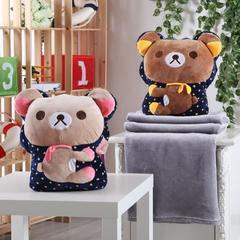 三用捂手抱枕(35*40CM ) 快乐熊