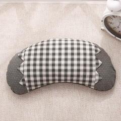 水洗棉荞麦枕 月亮灰