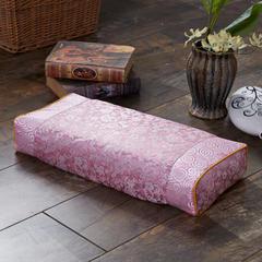 织锦缎古典荞麦枕(52*23*8) 粉红