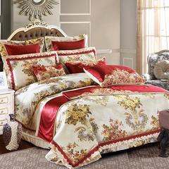 欧式婚庆多件套系列(威廉豪庭) 标准(1.5-1.8m)床 四件套(床单式)