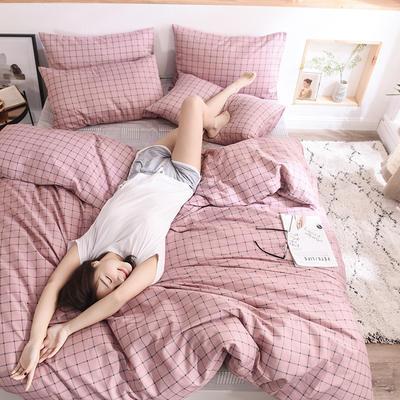 2019新品全棉13372印花四件套 1.2m(4英尺)床 时尚款洛曦