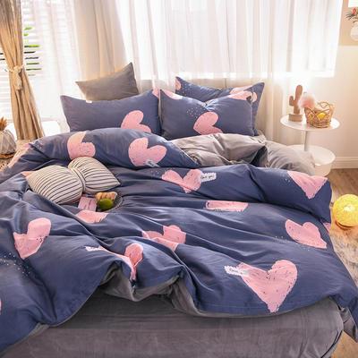 2019 13372棉绒款四件套 1.2m床单款三件套 心愿