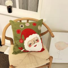 圣诞系列抱枕 45*45cm(内芯50*50cm)/个 快乐老人