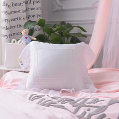 工艺毛线球抱枕 45*45cm(含芯) 白色仙女抱枕