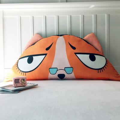 2019新款怪怪系列大靠枕(原创设计) 长1米, 高度0.5米 眼镜狗