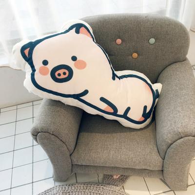 2019新款小猪抱枕 65x38cm 趴趴猪