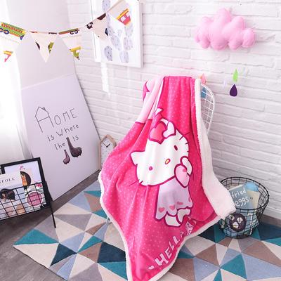羊羔绒童毯 100*140cm 气球凯蒂