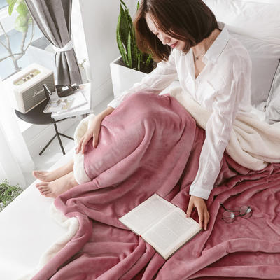 2018新款-北极暖绒双层毛毯 150*200cm 潘多拉