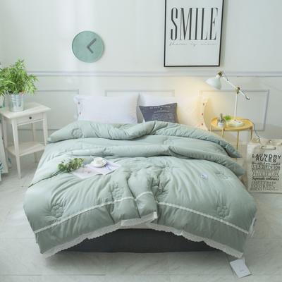 GMESS--全棉水洗棉冬被 200*230cm 薄荷绿