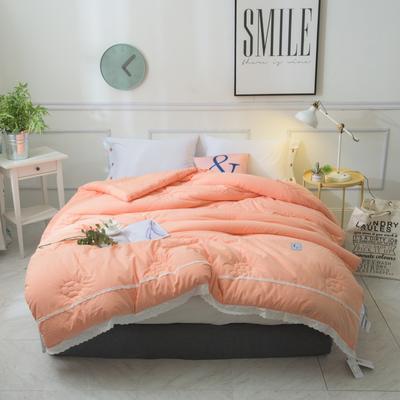 GMESS--全棉水洗棉冬被 200*230cm 阳光橙