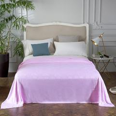 凯斯缦家纺   竹纤维盖毯 150*200CM 四叶草系列粉色