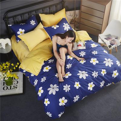 2018款棉加绒床单款四件套 标准1.5m-1.8m床 挚爱