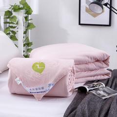 2017新品 水洗棉蚕丝被子母被二合一双胎秋冬被芯空调被子 150*200cm 4斤 玉色