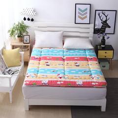 2017新品 加厚床垫1.8m床褥子1.5m双人垫被褥学生宿舍单人0.9米1.2m海绵榻榻米 0.9*2.0m床 KT猫 普通款