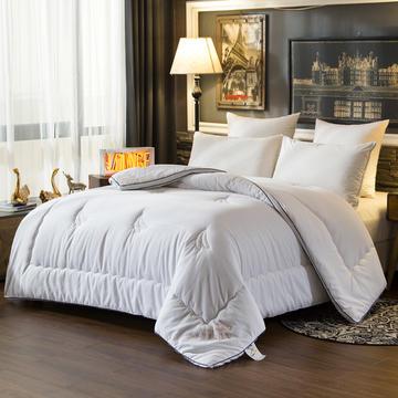 2018大豆纤维被芯春秋被全棉空调被双人夏被床上用品加厚纯棉被子冬被