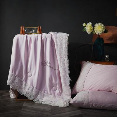 2020新款-蕾丝夏被 150x200cm 浅紫色