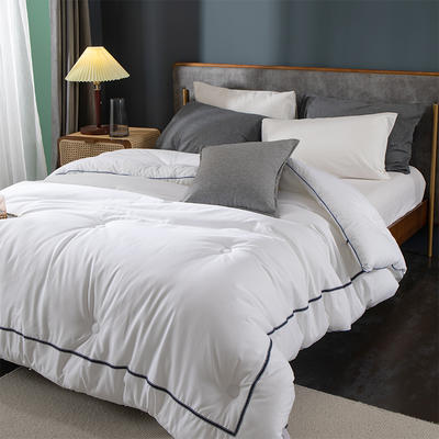 酒店被子被芯五星级 希尔顿高档宾馆民宿全棉杜邦纤维被四季通用 200X230cm冬被7.5斤 新西里