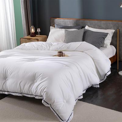 酒店被子被芯五星级 希尔顿高档宾馆民宿全棉杜邦纤维被四季通用 200X230cm冬被7.5斤 西雅图