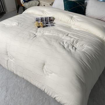 A类大豆纤维被子日式被芯全棉纯棉单双人春秋薄被子1.5床四季通用