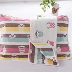 儿童枕巾(40*60)/对 茶杯猴