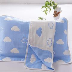 儿童枕巾(40*60)/对 蓝云朵