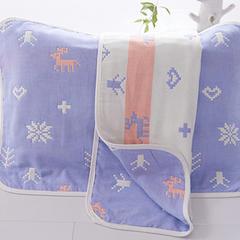 儿童枕巾(40*60)/对 雪花鹿
