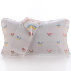 2018新款纯棉六层枕巾 多彩米奇枕巾(50*80cm/对)