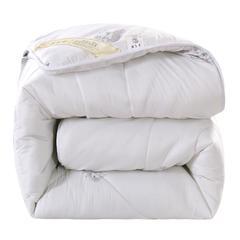 2018年冬季羊毛被  冬被被子被芯 150x200cm  5斤 白