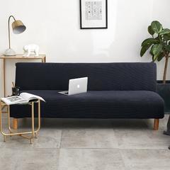 2018新款-针织加厚沙发床套 标准 藏青