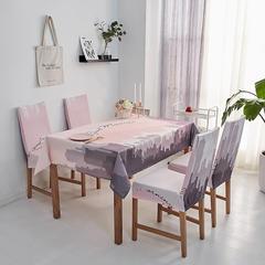 2018新款-餐桌布椅子套 椅子套通用40*60cm 城市