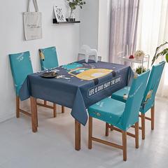 2018新款-餐桌布椅子套 椅子套通用40*60cm 出租车