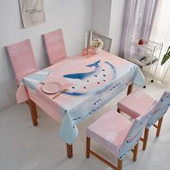 2018新款-餐桌布椅子套 椅子套通用40*60cm 粉色记忆
