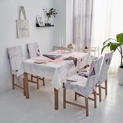 2018新款-餐桌布椅子套 椅子套通用40*60cm 三角