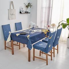 2018新款-餐桌布椅子套 椅子套通用40*60cm 太空漫步