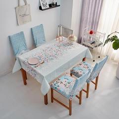 2018新款-餐桌布椅子套 椅子套通用40*60cm 田园牧歌