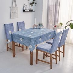2018新款-餐桌布椅子套 椅子套通用40*60cm 夏日悠悠草