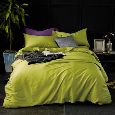 60纯色长绒棉系列四件套 标准(1.5m-1.8m床) 奥丁黄