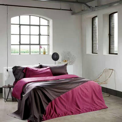 60纯色长绒棉系列四件套 标准(1.5m-1.8m床) 优雅紫