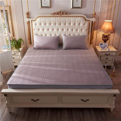2019新款乳胶凉席-纯色 1.5m(5英尺)床 纯色豆沙