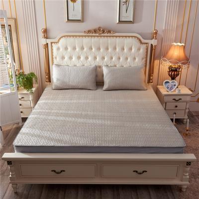 2019新款乳胶凉席-纯色 1.5m(5英尺)床 纯色卡其