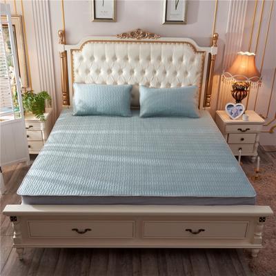 2019新款乳胶凉席-纯色 1.5m(5英尺)床 纯色墨蓝