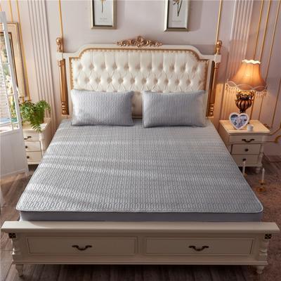 2019新款乳胶凉席-纯色 1.5m(5英尺)床 纯色深灰