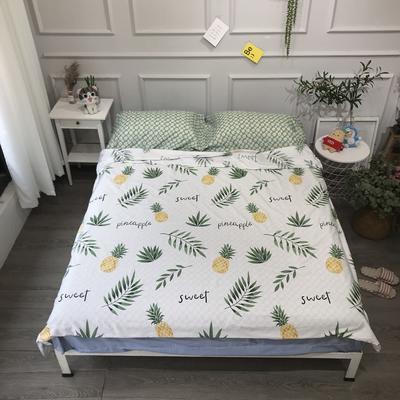 2020纯棉隔脏睡袋新品 菠萝120*210cm