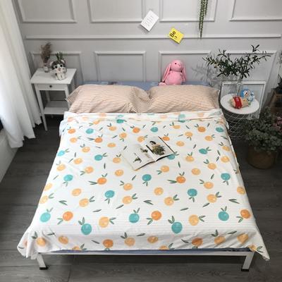 2020纯棉隔脏睡袋新品 橙子160*200cm