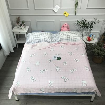 2020纯棉隔脏睡袋新品 兔子120*210cm