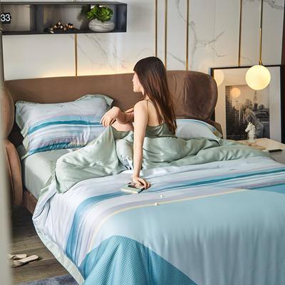 2021新款60天丝平网四件套 1.5m床单款四件套 伊亚特