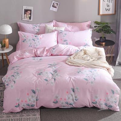 2019新款全棉床单款四件套 1.2m床单款三件套 等风来
