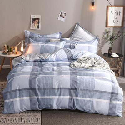 2019新款全棉床单款四件套 1.2m床单款三件套 格林物语